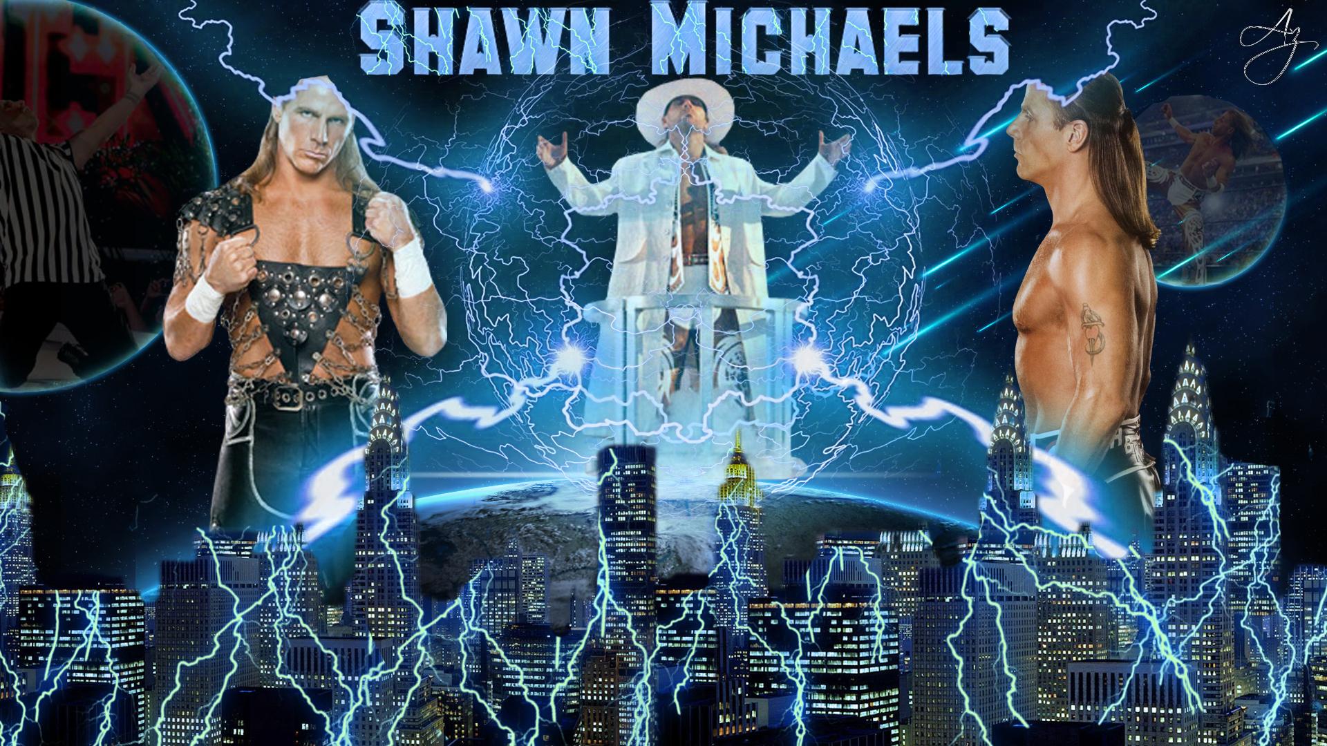 Shawn Michaels HD Wallpaper by FunkyAli on DeviantArt