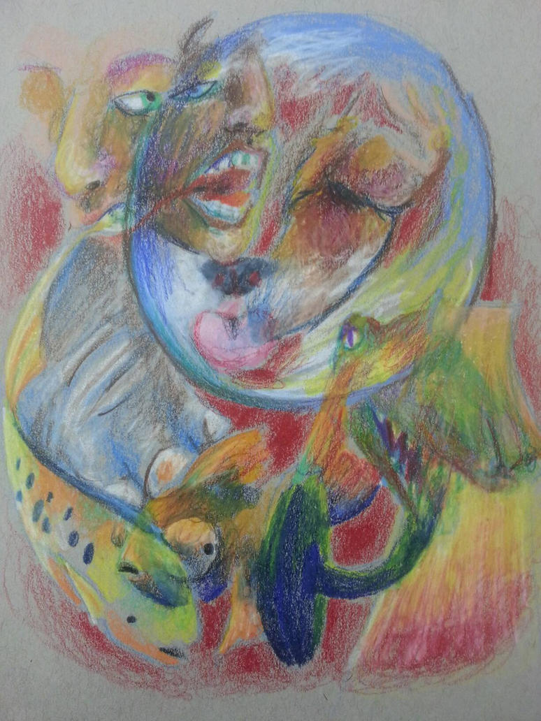 Dream sketch by Theliquidcrayfish