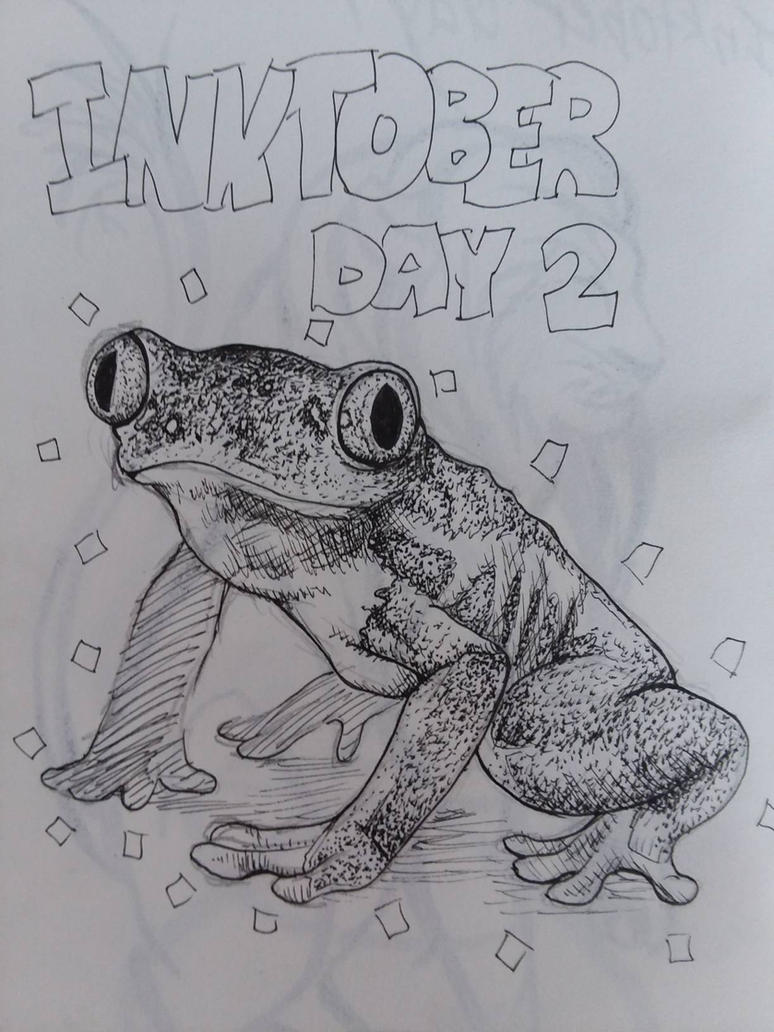 Inktober day 2 by Theliquidcrayfish