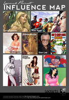 Influence map leoarts by le0arts