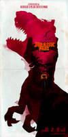 Inspired Movie Poster #2: Jurassic Park 1993