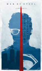 Superman Man Of Steel. 2013. Inspired Poster.