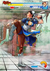 Chunli Capcom Street Fighter by le0arts