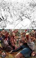 Gft Wonderland #14 double page by le0arts