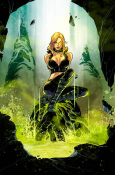 Realm War #4 Age of Darkness. Cover. Zenescope.