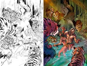 Jungle Book cover FOTW #3D Zenescope