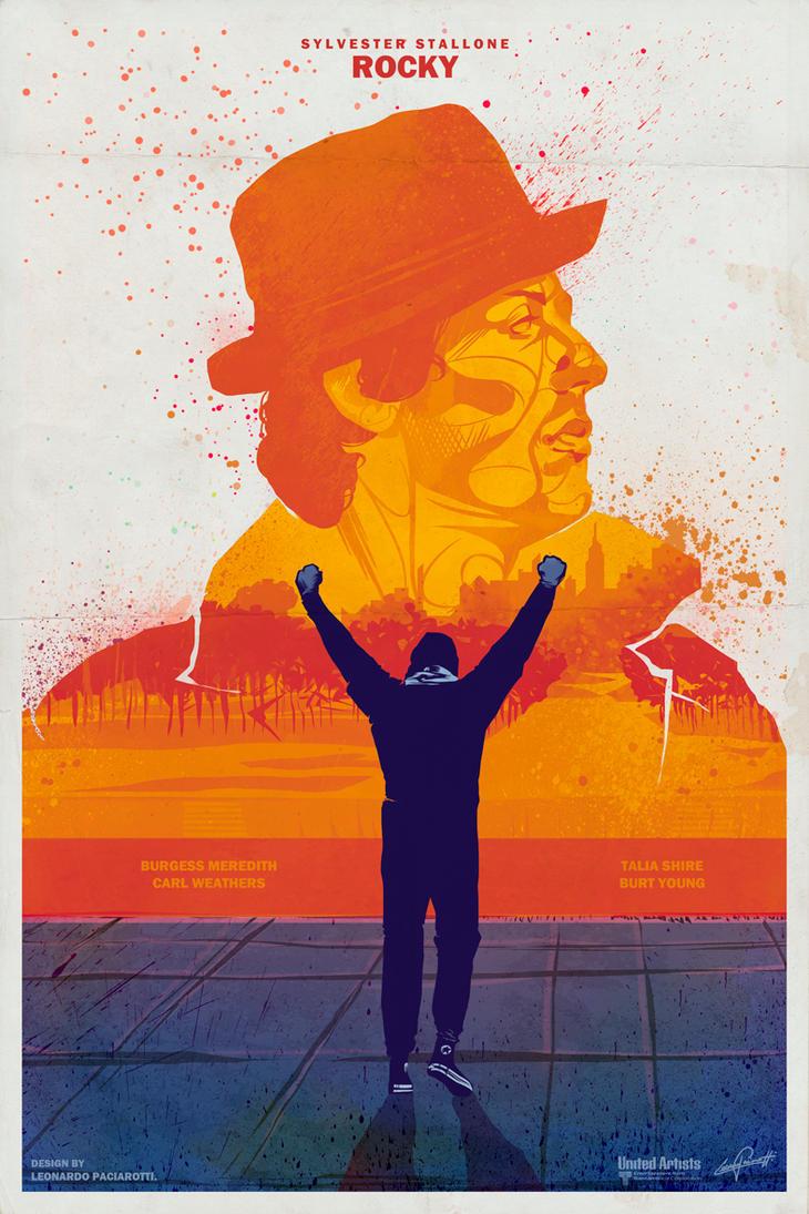 Rocky movie poster 16 x 20