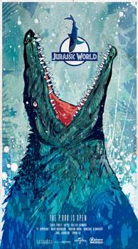 Jurassic World (2015) poster art
