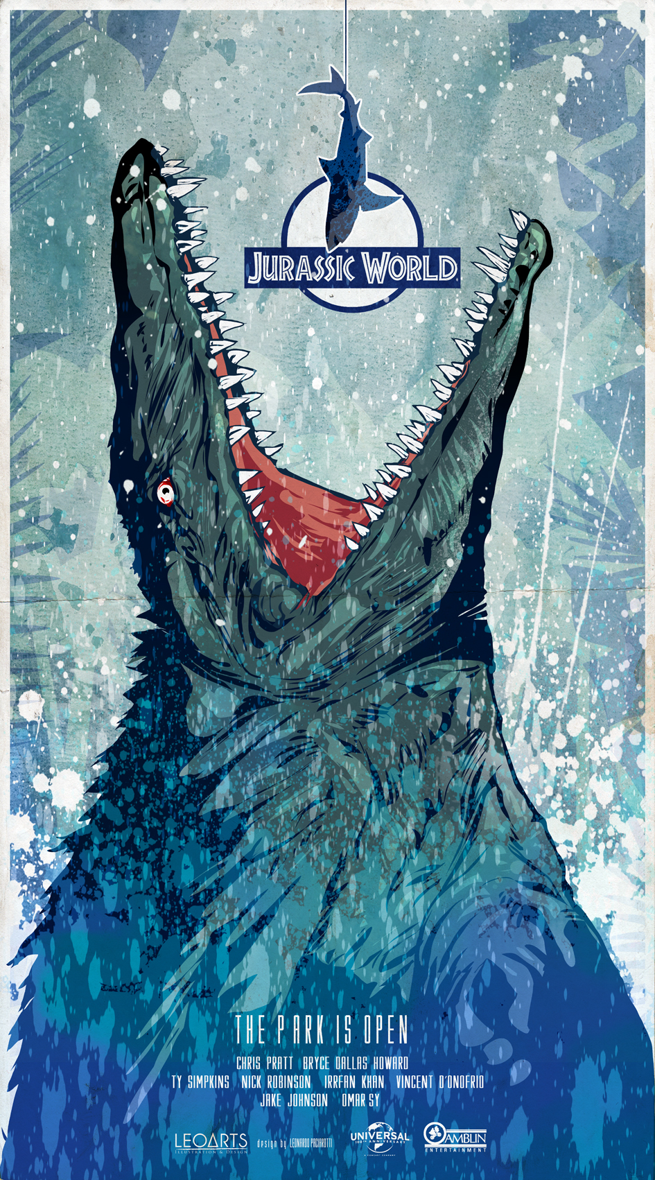 Jurassic World 2015 Poster Art By Le0arts On Deviantart