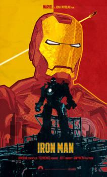 Iron Man (2008 film) poster art
