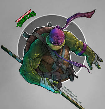 Teenage Mutant Ninja Turtles: Donatello by le0arts