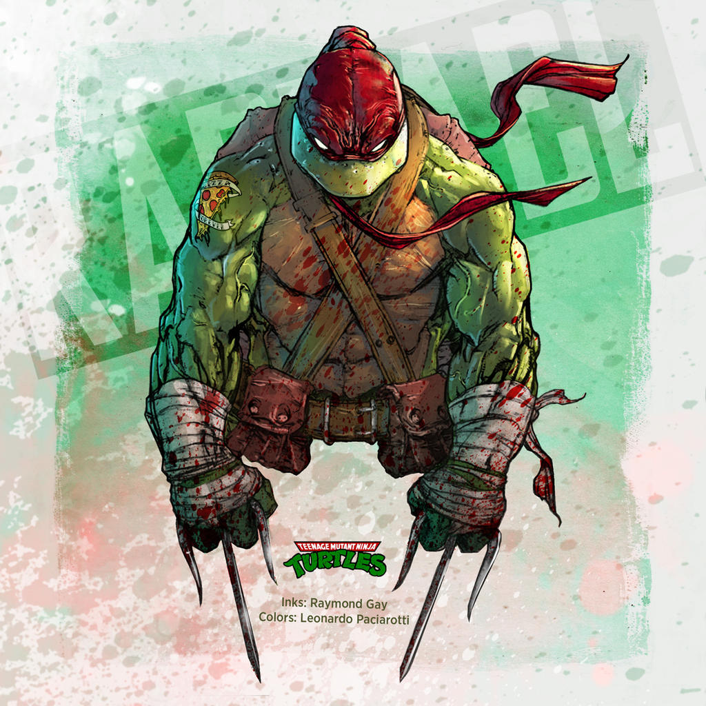 Teenage Mutant Ninja Turtles: Raphael by le0arts on DeviantArt