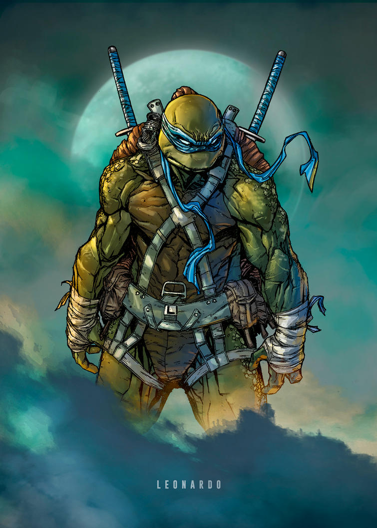 TMNT LEONARDO (colors) by le0arts on DeviantArt