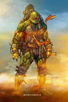 Teenage Mutant Ninja Turtles: Michelangelo (color)