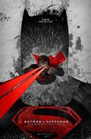 Batman v Superman: Dawn of Justice VARIANT poster by le0arts
