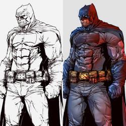 The Dark Knight colors