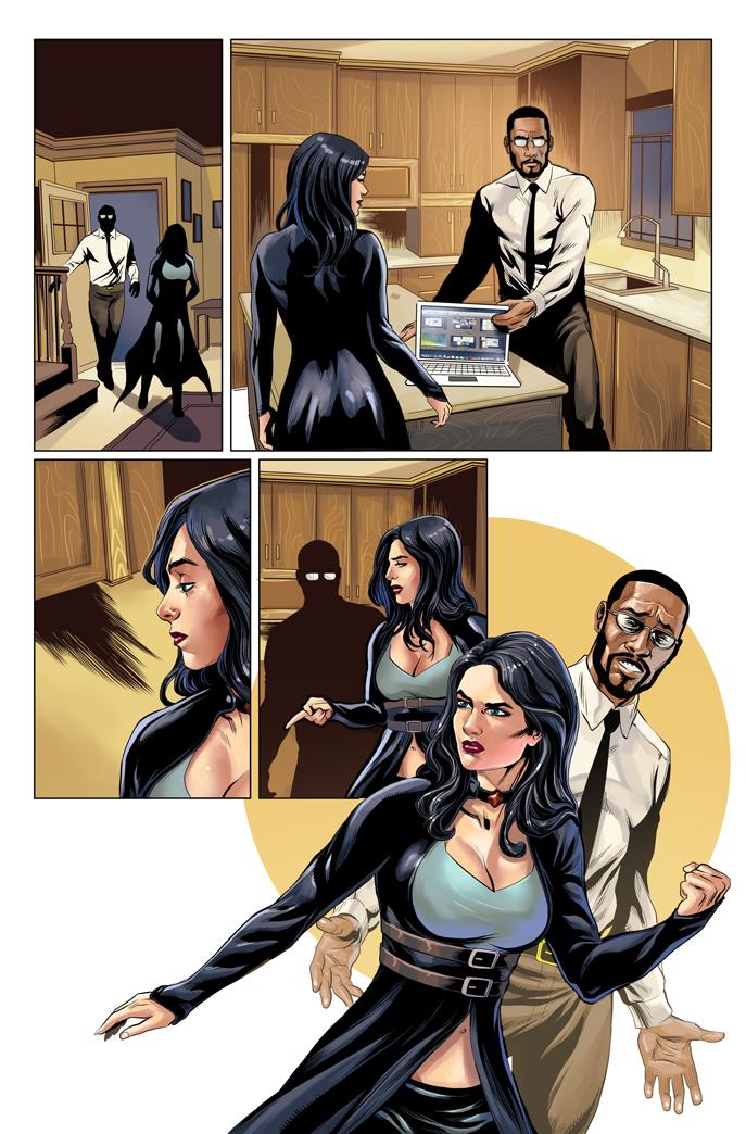 Van Helsing vs. Robyn Hood #2 Zenescope COLOR by le0arts