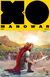 X-O MANOWAR #23 color VALIANT by le0arts