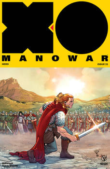 X-O MANOWAR #23 color VALIANT