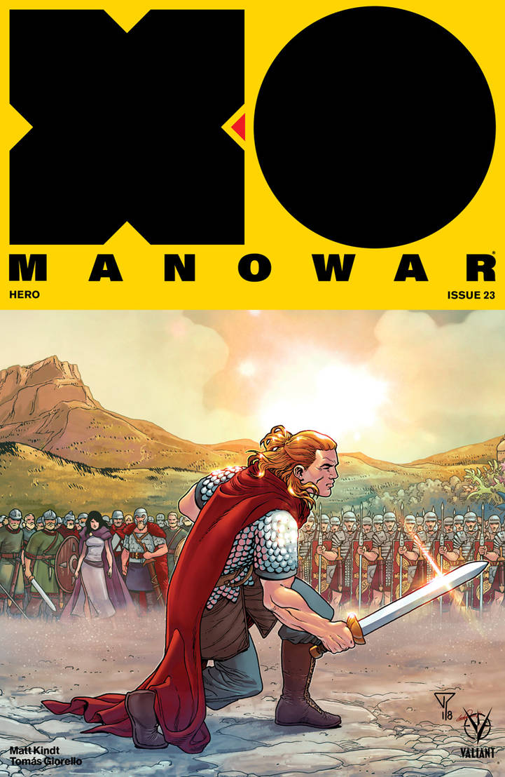 X-O MANOWAR #23 color VALIANT by le0arts