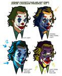 Joker Joaquin Phoenix color light study
