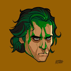 Joker Movie illustration Hair dye DC Comics