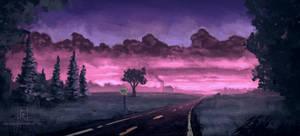 Landscape-10 (Desolate Road)