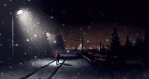 Landscape-15 (Distant Town)