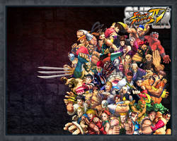 Super Street Fighter IV by Sinistha