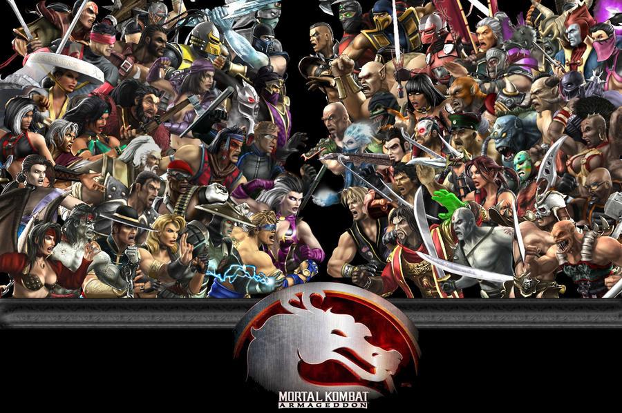Con cual Mortal kombat te quedas?