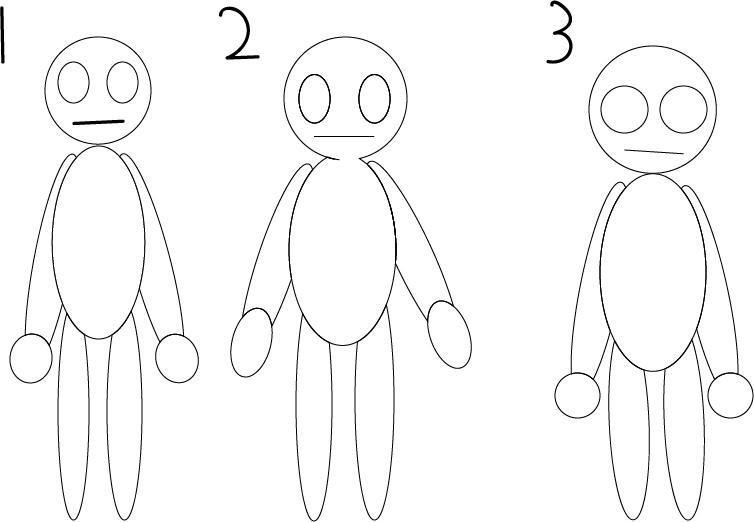 Socially Awkward character design by HollowStudio