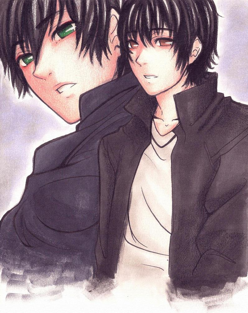 Behind those dark eyes... by HiroshiYamamoto
