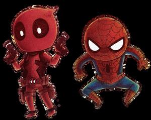 Chibi Stamp Marvel Heroes