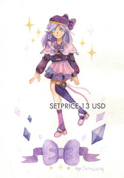 OPEN - Magical purple set price Points/Paypal