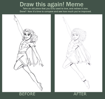 Draw This Again: Mary Marvel