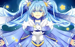 Snow Miku~ by Haru-n