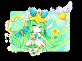 Star guardian Lulu ! by Haru-n