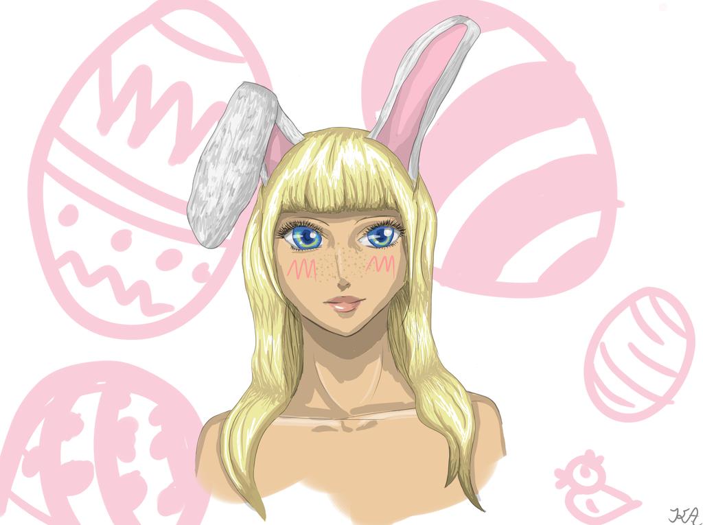Bunny Girlgirl... by Draceira