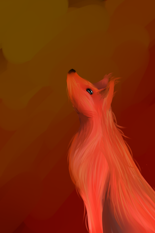 Red Doggo by Draceira