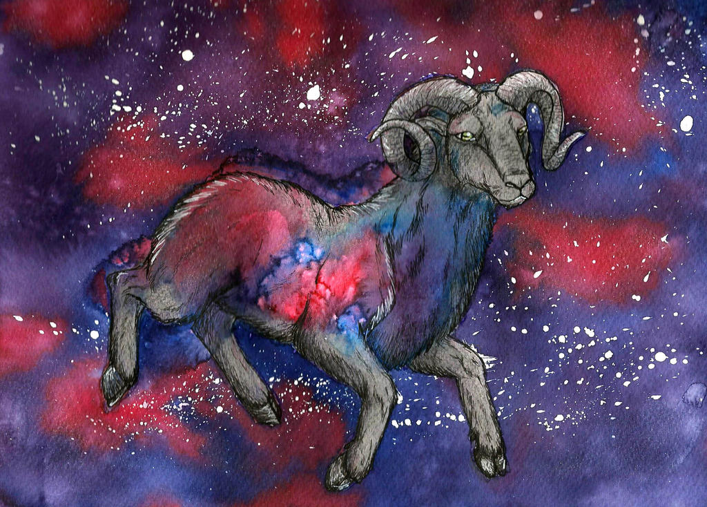 Celestial Ram by UpalaFire