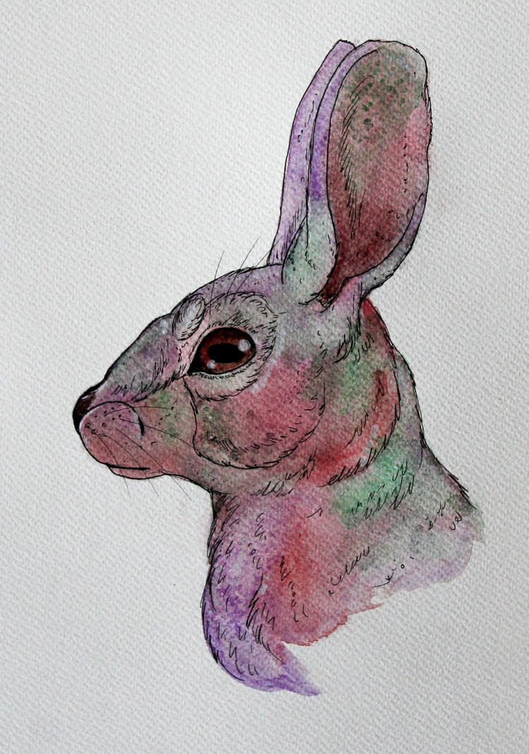 Galactic Cottontail by UpalaFire