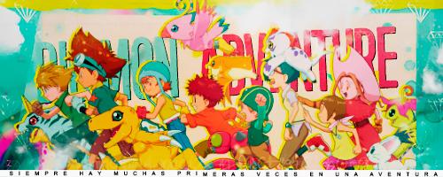 Digimon Adventure - FIRMA by kagomechan20