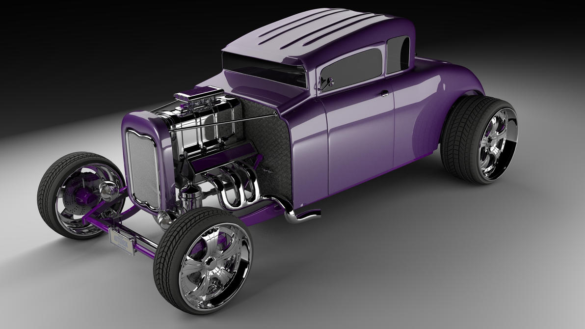 Stylized Ford 32 Hot Rod by Zacko86 on DeviantArt