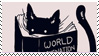 I love cats stamp by 9PinkCats