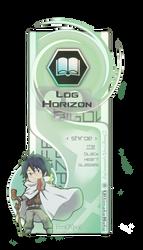 [Bookmark] Shiroe, Log Horizon