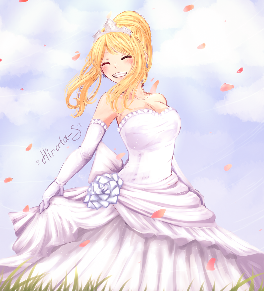 Lucy - Wedding dress by Hirata105 on DeviantArt