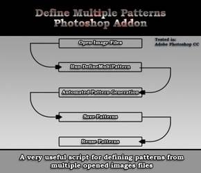 Define Multiple Patterns JSX Script for Photoshop by bestm8