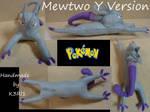 CO: Mewtwo Version Y Mega Form Plush
