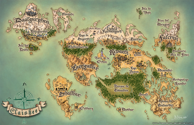 Claishee Map by Noemnerys