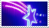 glowing star stamp